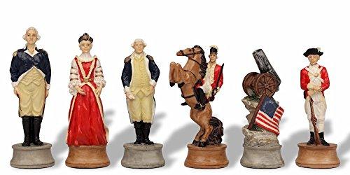 (American Revolutionary War II Theme Chess Set)