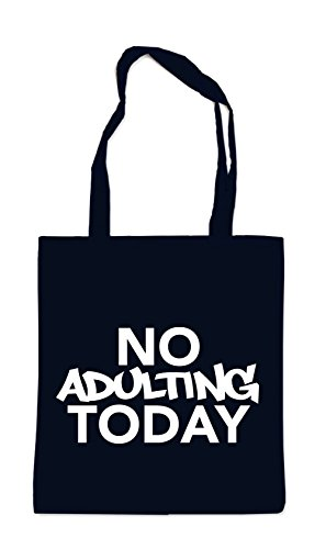 No Adulting Today Bag Black Certified Freak