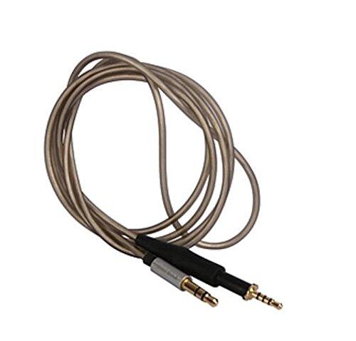 Neuf V/éritable earmax /à c/âble /écouteurs pour casque K450//K451//Q460//K480/3,5/K Glod plaqu/é argent de haute qualit/é