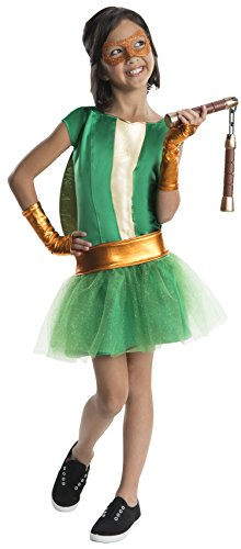Rubies Teenage Mutant Ninja Turtles Deluxe Michelangelo Tutu Dress Costume, Child Small for $<!--$22.27-->