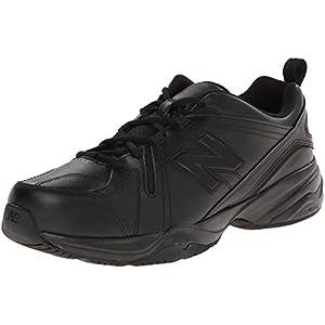 New Balance Men's MX608V4 Training Shoe,Black,9 D US