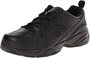 New Balance Men's MX608V4 Training Shoe,Black,10.5 4E US