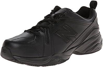 New Balance Men\u0027s MX608v4 Training Shoe, Black, 9.5 D US