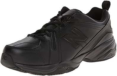 New Balance Men's MX608v4 Training Shoe, Black, 10 2E US