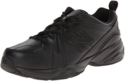 New Balance Men's MX608v4 Training Shoe, Black, 13 4E US
