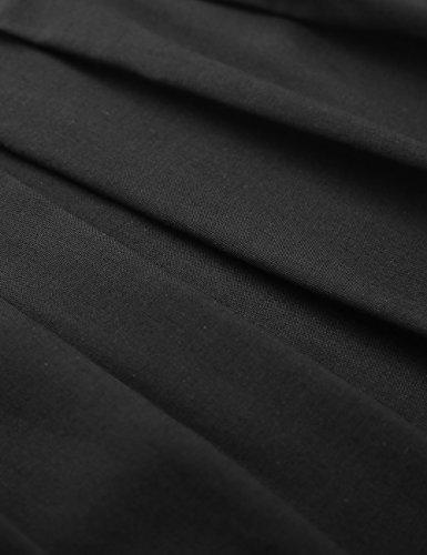 Sans Mini Noir Manche Bretelles Plage Femme Imprime plume Ete Baishenggt Fleur Spaghetti Robe De 4ALqR35j