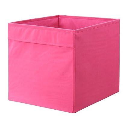Ikea Dröna Caja en Color Rosa; (33 x 38 x 33 cm);
