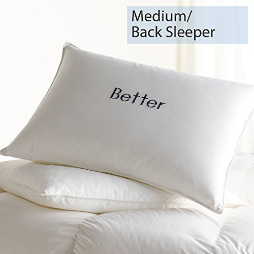 The Company Store Better Bed Pillow, Medium, King, White - Company Store Pillow