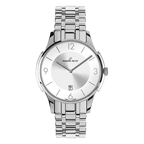 Pierre Petit P-850F Swiss Bracelet Watch - Silver