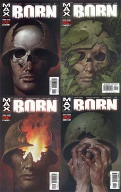 Read Online Punisher: Born '03 Issues #1-4 Comic Set ebook