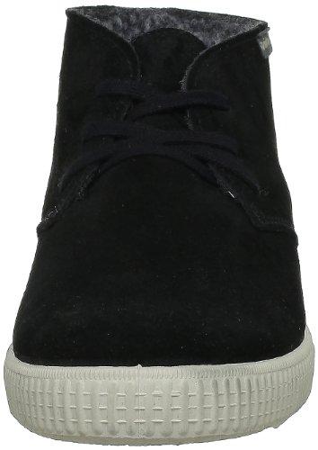 Adulto Unisex Serraje Negro Stivaletto Noir a Pantofole VictoriaSafari UXZxAIwqX