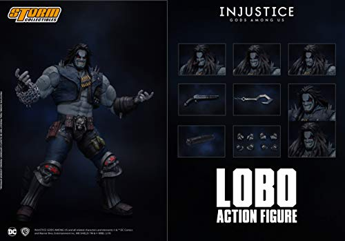 Storm Collectibles 1/12 Lobo Injustice: Gods Among Us