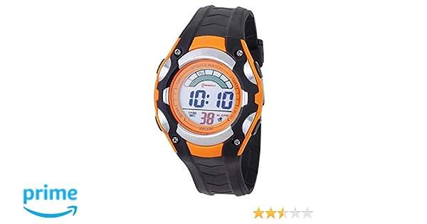 Mingrui - Reloj digital deportivo sumergible para niños, con cronómetro y alarma, color negro: Amazon.es: Relojes