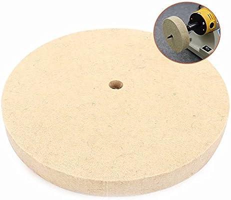 Grinding Polishing Buffing Wheel Disc Wool Felt For Metal Steel Copper Aluminum