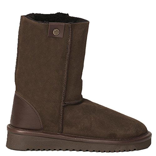 Celtic & Co Womens Regular Height British Sheepskin Celt Boots Mocca 4Jrzs