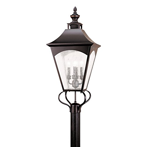 Feiss OL1008ORB 4-Bulb Outdoor Wall Lantern, Oil Rubbed Bronze Finish For Sale