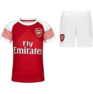 47e9b04e3 GOLDEN FASHION Non Branded Arsenal Home Football Jersey KIT with Short 2018- 19