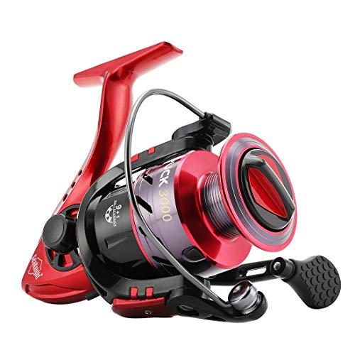 SeaKnight Puck Spinning Reels 9+1 BB 5.2:1 High Speed Light Weight Ultra Smooth Powerful Spinning Fishing Reel