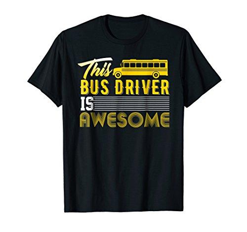 Funny School Bus Driver T-Shirt Gift Men Women School Kids