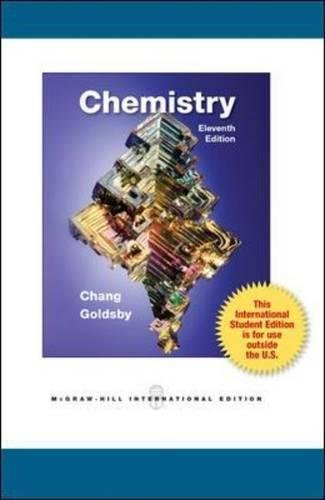 Chemistry raymond chang kenneth goldsby 9780071317870 amazon chemistry raymond chang kenneth goldsby 9780071317870 amazon books fandeluxe Choice Image