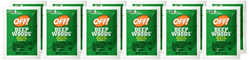 51AgDbNPMML Off! Deep Woods Insect Repellent Towelettes 12ea