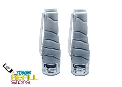 toner refill store 2 pack compatible toner cartridge for the konica minolta bizhub 200 tn - Toner Cartridge Refill