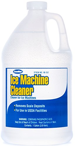 ComStar 90-352 Ice Machine Cleaner - Lime and Scale Remover, 1 gal Bottle,White ()
