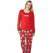 CeRui Family Christmas Snowman Pajamas Sleepwear Christmas Pajamas Sets