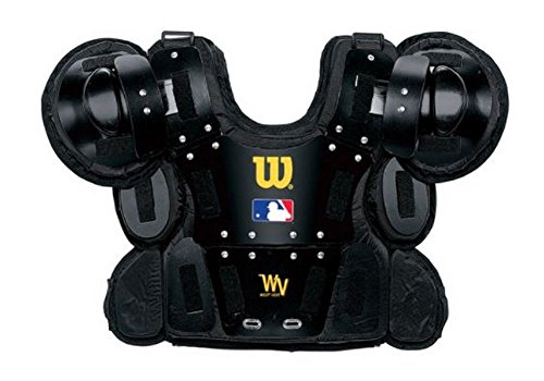 12″ Professional Gold Chest Protector from Wilson