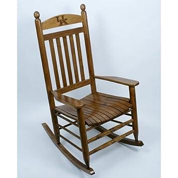 Fine Amazon Com Kentucky Wildcats Rocking Chair Maple Finish Theyellowbook Wood Chair Design Ideas Theyellowbookinfo