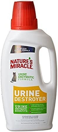 Nature/'s Miracle Urine Destroyer Formula Stain /& Residue Eliminator,...