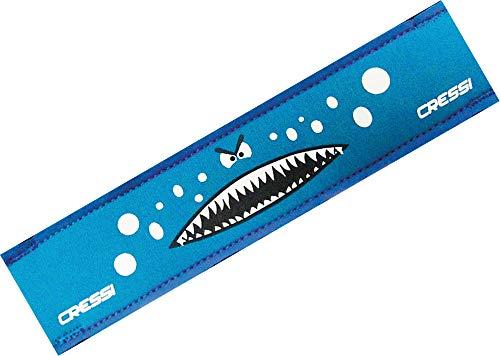 - Cressi Neoprene Goggle Strap Cover, light blue