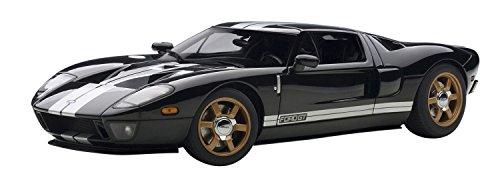 1/18 フォード GT(ブラック×シルバーストライプ) 73023