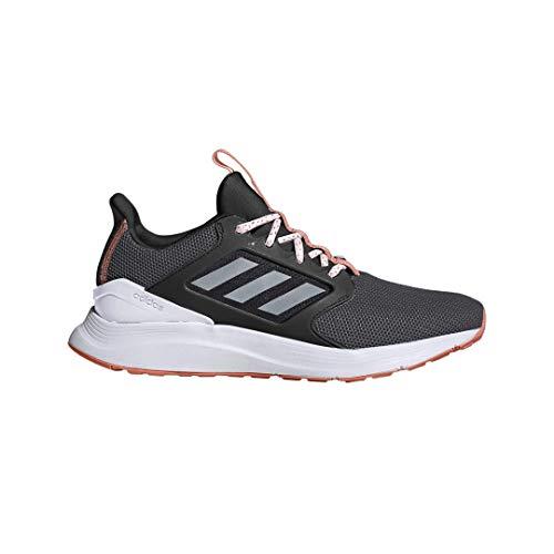 adidas Women's EnergyFalcon X Running Shoe, Black/White/Grey, 7.5 M US (Adidas Tennis Trainers)