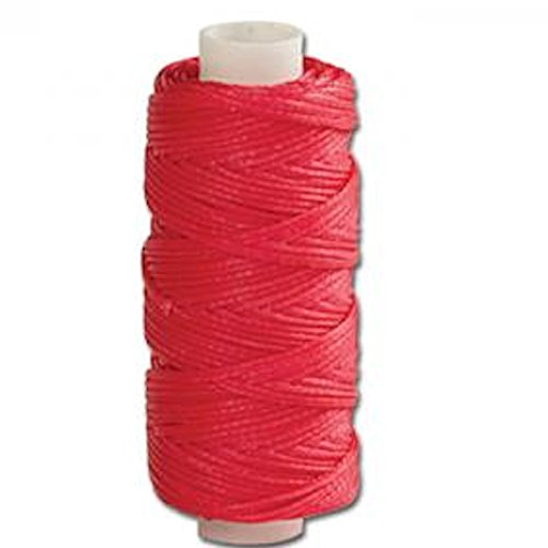Tandy Leather Waxed Braided Cord 25 yds. (22.9 m) Pink 11210-33