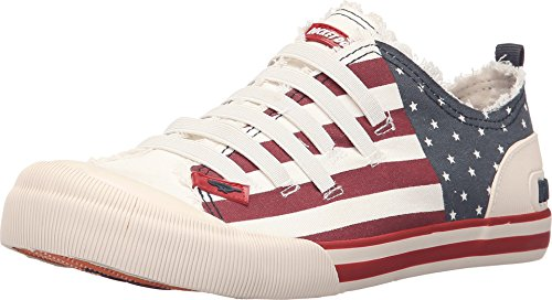 Rocket Dog Women's Joint USA Canvas Oxford