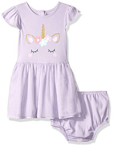 Gerber Girl - Gerber Baby Girls Dress, Unicorn, 24 Months