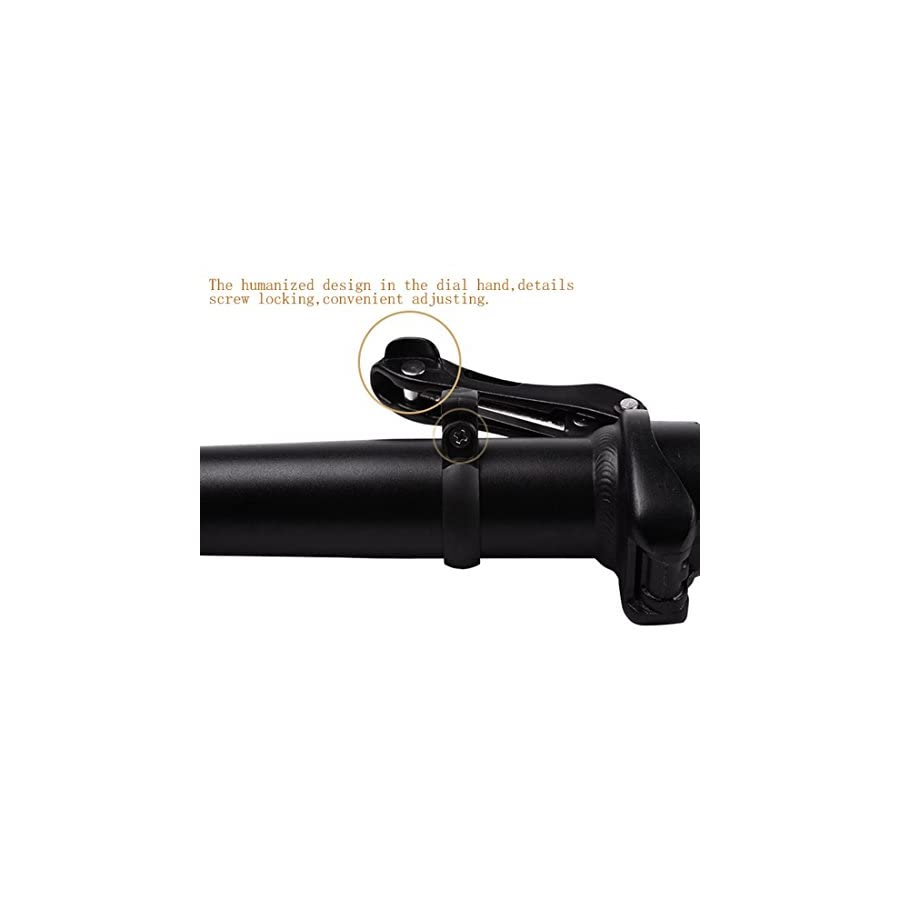 Adjustable and Folding Bicycle Stem Sturdy and Durable Quick Fold and Adjust System Bike Stems 25.4mm