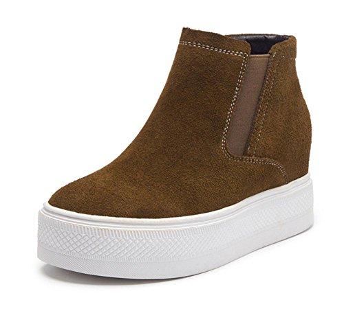los zapatos del elevador Ms Spring zapatos perezosos mujeres escoge los zapatos de fondo grueso , US6.5-7 / EU37 / UK4.5-5 / CN37