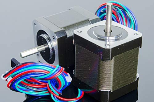 ACROBOTIC 2-Pack NEMA-17 Motor paso a paso 48mm 200 pasos/rev 59N ...