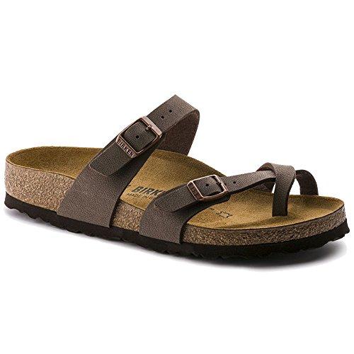 Mayari Birkibuc Mocha Sandals (N) ()