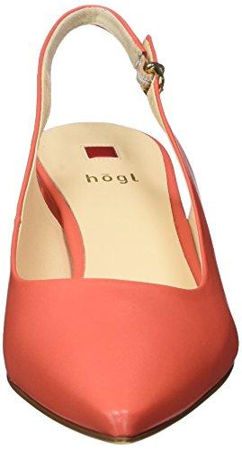 Högl 3-10 4600 8500, Scarpe Col Tacco con Cinturino a T Donna Arancione (Melone8500)