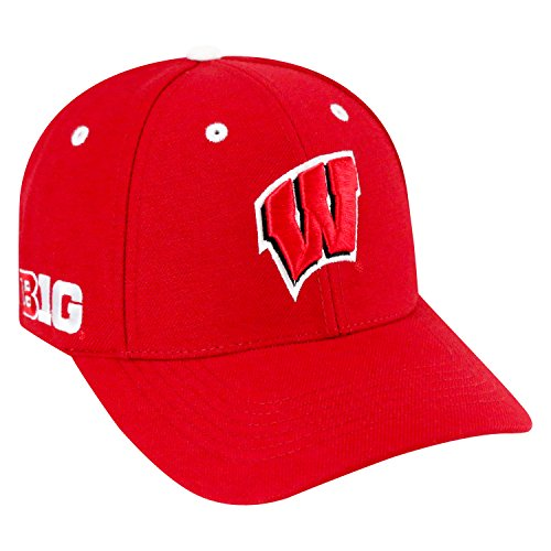 Top of the World NCAA-Triple Conference-Adjustable Hat Cap-Wisconsin Badgers