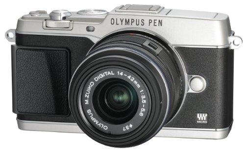 オリンパス ペンEP5 シルバー レンズキット M.ズイコー デジタル1442mm F3.55.6 II R