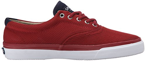 Sperry Top-Sider Mens Striper CVO Knit Fashion Sneaker, Red, 12 M US