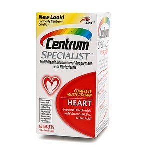PACK OF 3 EACH CENTRUM CARDIO 60TB PT#5432960