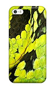 2015 7356681K93369680 Perfect Tpu Case For Iphone 5/5s/ Anti-scratch Protector Case (deadly Snake)