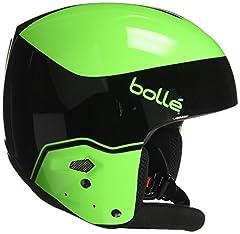 Medalist Black & Flash Green 59-60cm Ski Helmet Bolle Winter Medalist Black & Flash Green 59-60cm 31396 Ski Helmet FIS Approved Winter Sports Ski Snowboard Helmets.