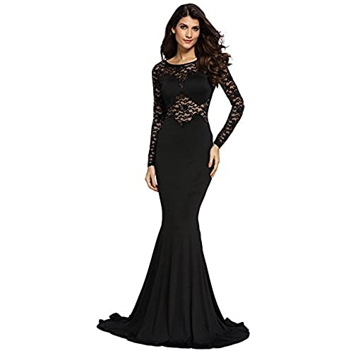 Black Formal Gowns and Evening Dresses Floor Length: Amazon.com