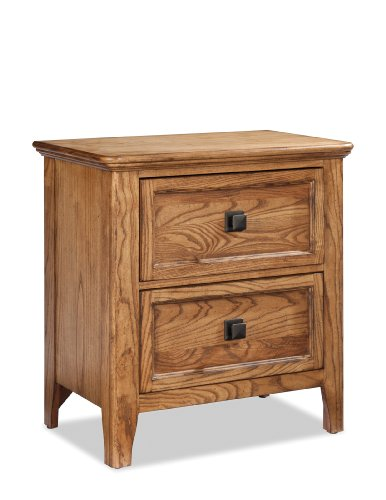 Bedroom Ash Nightstand (Imagio Home AL-BR-5302-BAS-C 2-Drawer Avalon Nightstand in Brushed Ash Finish)